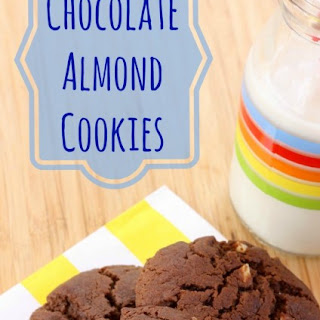 Flourless Chocolate Almond Cookies.