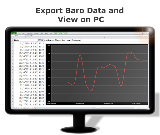 DS Barometer - Altimeter and Weather Information 3.75 screenshots 6