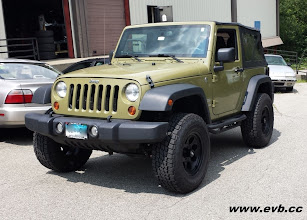 "Photo: 2013 Jeep JK Wrangler 2.5"" AEV lift with 17x9 Mickey Thompson Classic III wheels aw/295/75/17 Nitto Tera Grappler tires."