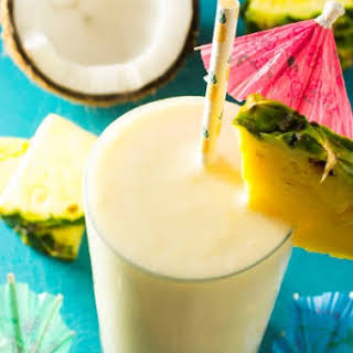 Coconut Pineapple Smoothie.