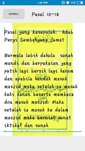 Kitab Adabul Insan screenshot 5