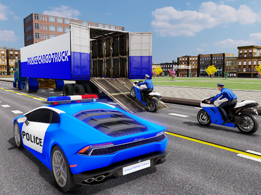 US Police Transporter Plane Simulator 2.1 screenshots 11