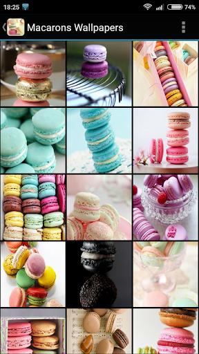 Macarons Wallpapers