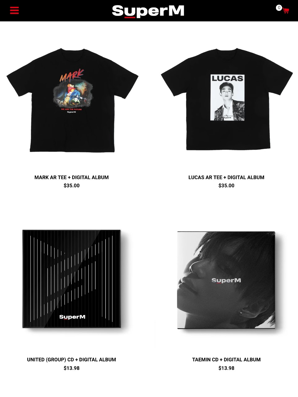 superm album bundle