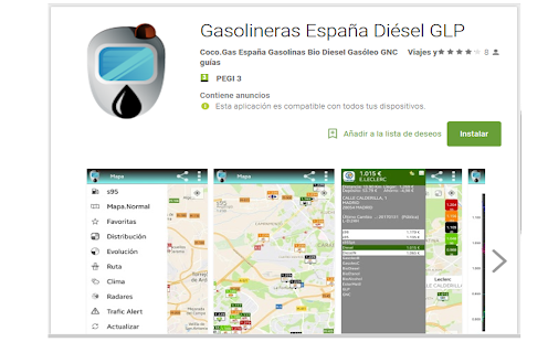 Gasolinas España