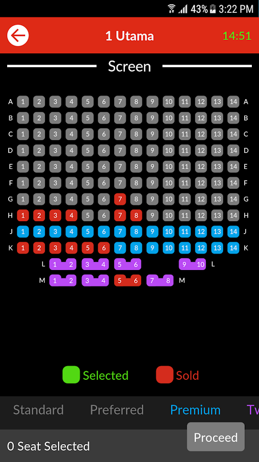 TGV Cinemas- screenshot