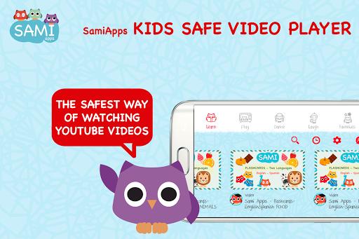 Kids Safe Video Player Sami