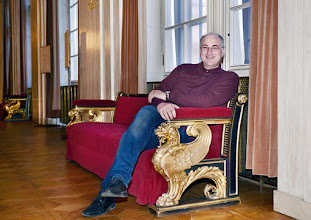 Photo: Vor DON PASQUALE in der Wiener Staatsoper. Premiere am 26.4.2015.  Michele Pertusi- Copyright: Barbara Zeininger