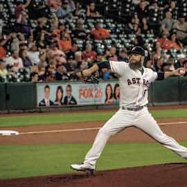 Dallas Keuchel by Prentiss Findlay - Sports & Fitness Baseball ( dallas keuchel, astros keuchel, keuchel houston astros, houston astros, keuchel astros )