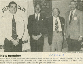 Photo: Vince Accardi, David Kent, Frank Pryatel, Frank Knight - March 1992