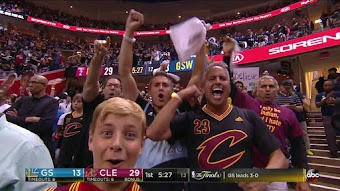 Golden State at Cleveland, Game 4 from 06/09/2017