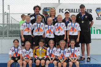 Photo: F10 2015 Mirabel FC Challenger Tournament Champions!!