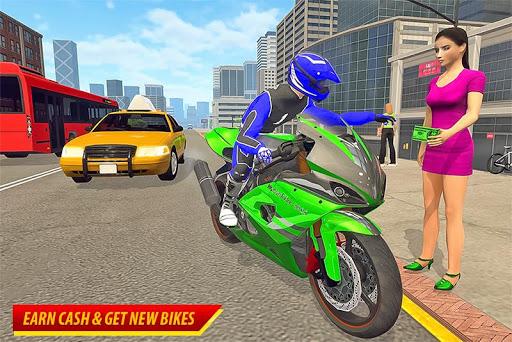 Moto Bike Taxi Simulator: Bike Driving Games 1.0 screenshots 2