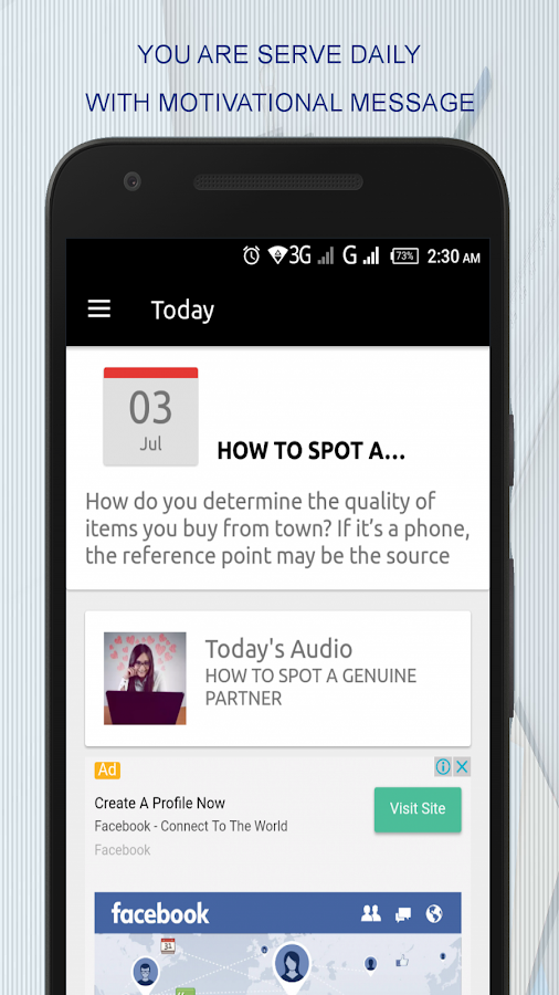 Counselor Adofoli App- screenshot