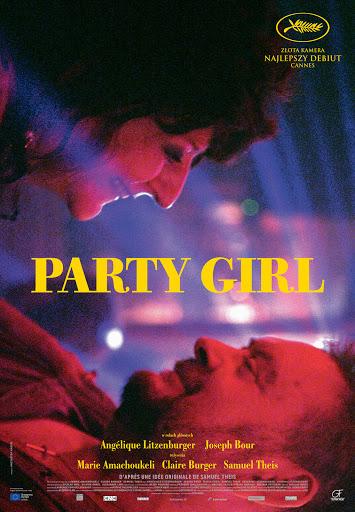 Polski plakat filmu 'Party Girl'