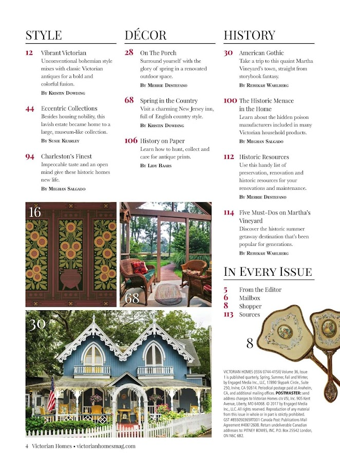 Victorian Homes Magazine- screenshot