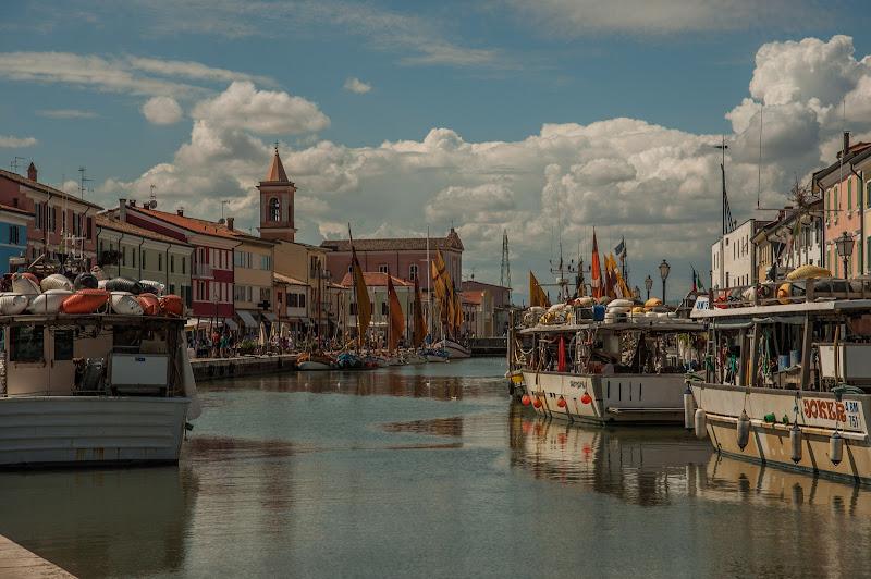 Cesenatico - Porto canale di Gian Piero Bacchetta
