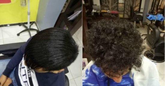 فرد الشعر المموج للرجال