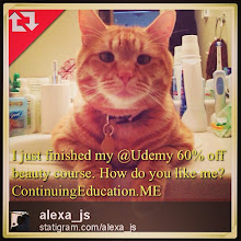 Photo: I just finished my @Udemy 60% off beauty course. How do you like me? #intercer #cat #cats #education #udemy #pet #pets #beautiful #pretty #sweet #continuingeducation #learn #petsofinstagram #school #teach #teach2013 #college #student #affiliate #deal #sale #book #look #beauty - via Instagram, http://instagram.com/p/YlXBivpfpa/