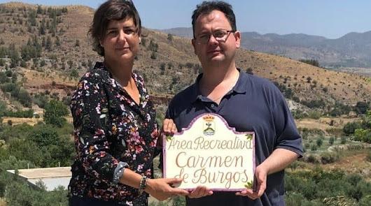 Suflí homenajea a Carmen de Burgos dándole su nombre al merendero