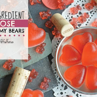 3 Ingredient Rosé Gummy Bears.