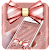 Rose Gold Shiny Bowknot Theme file APK Free for PC, smart TV Download