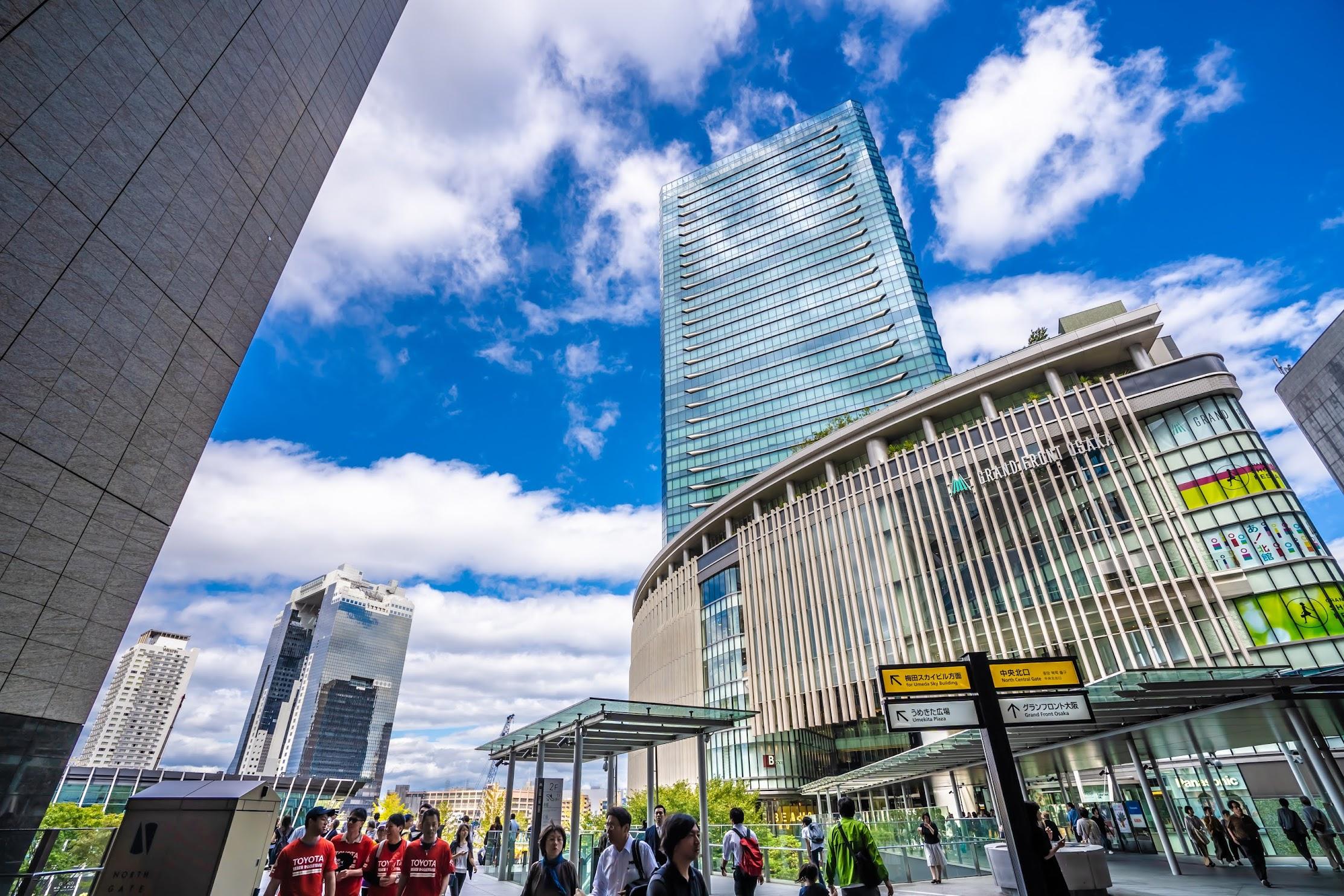 Osaka Station City Atrium Plaza2