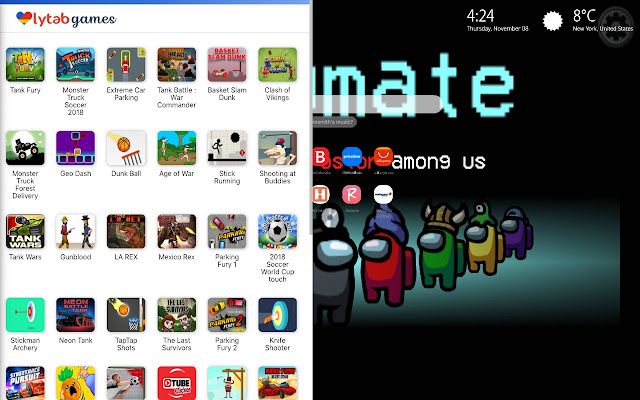 Among Us Game Themes New Tab Download all kinds of pc games pc software's tools and also learn how to earning money online free with real sites all things free here. among us game themes new tab