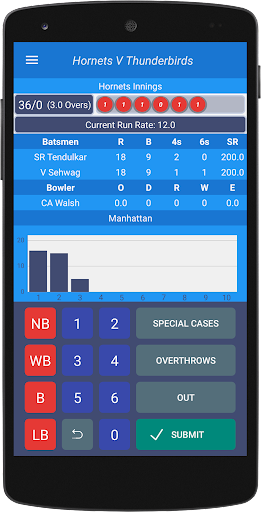Cricketer - Scoring & Stats 1.2.0-a228e027 screenshots 2