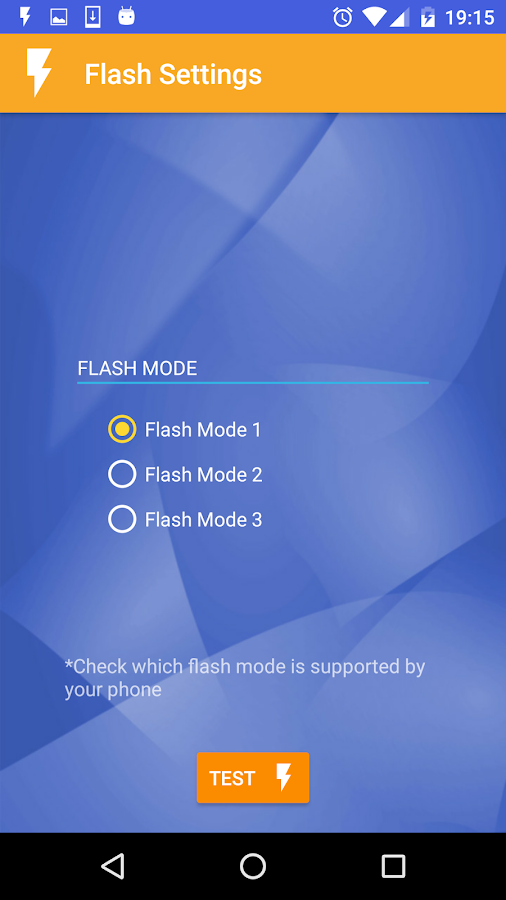 My Flash On Call Ringtone- screenshot