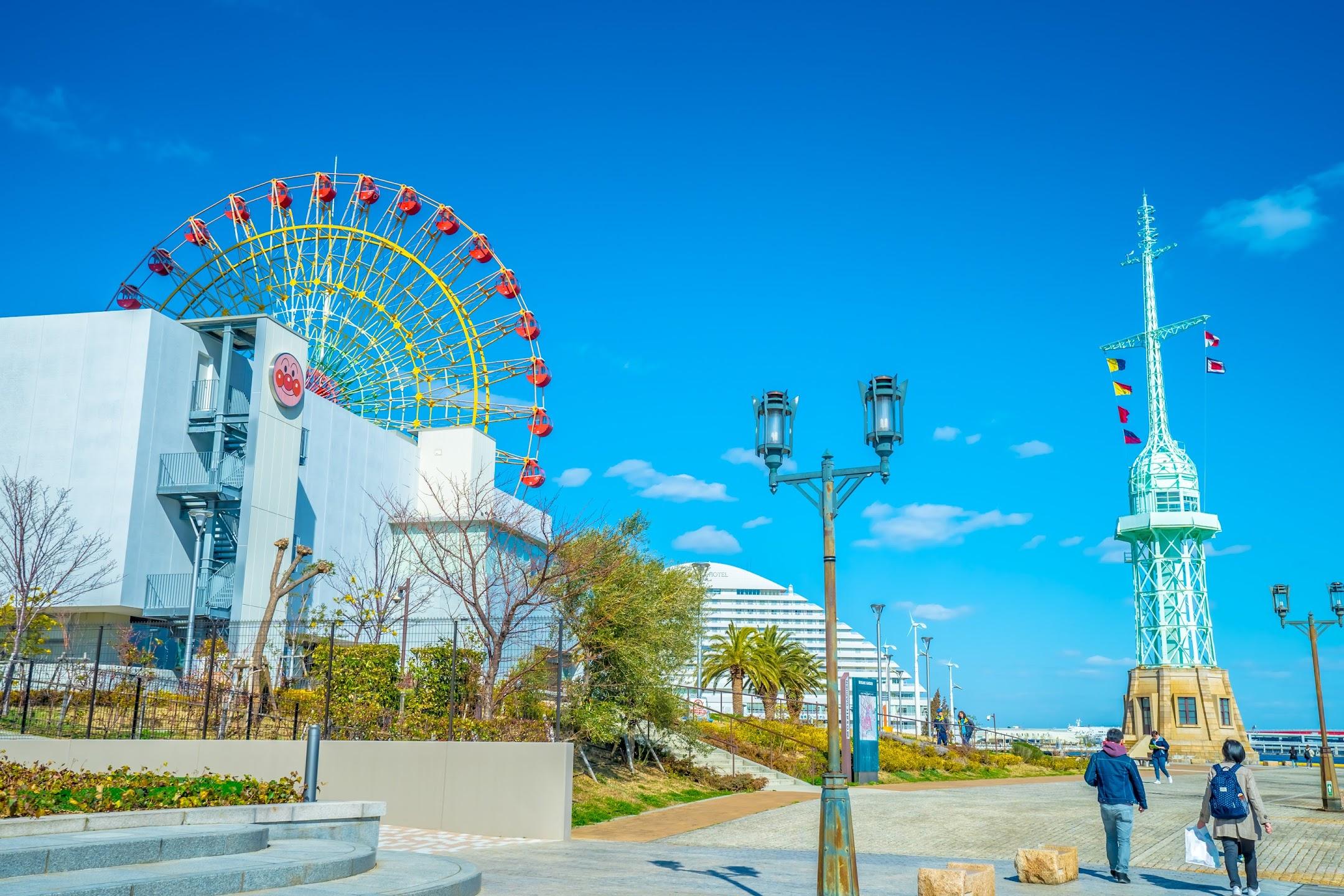 Kobe Harborland ferris wheel