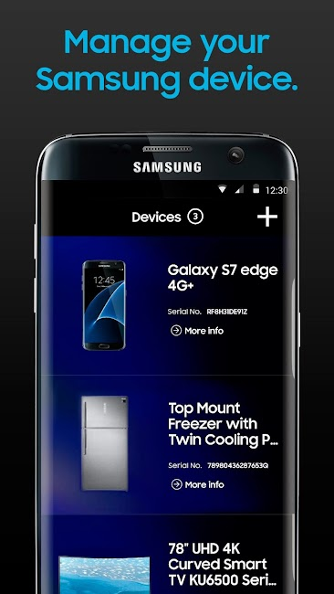 #1. mySamsung (Android)