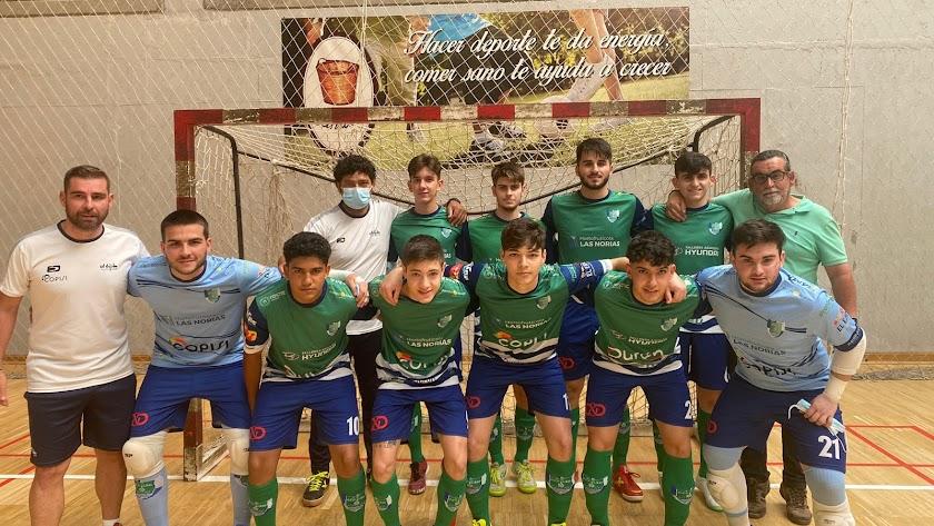 El Infantil del CD El Ejido Futsal.