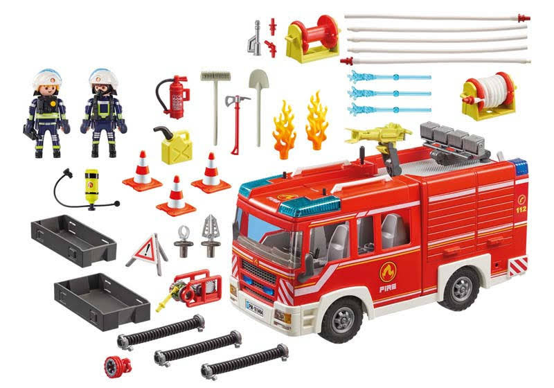 Contenido Real de Playmobil® 9464 Camión de Bomberos