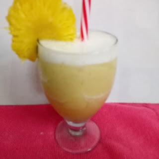 Pineapple and Banana Mocktail Recipe