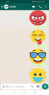 New Emojis Stickers 4D Animated WAStickerApps for PC-Windows 7,8,10 and Mac apk screenshot 3