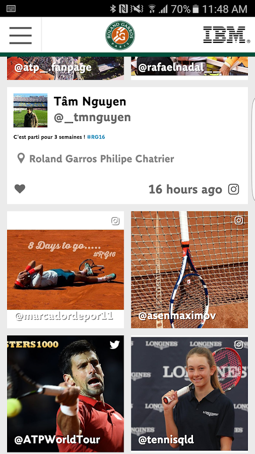 The Official Roland-Garros App- screenshot