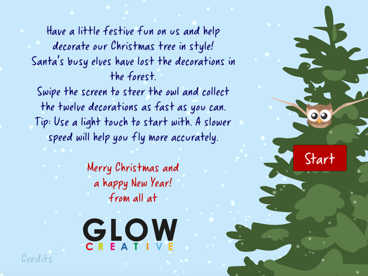 GLOW Christmas- screenshot