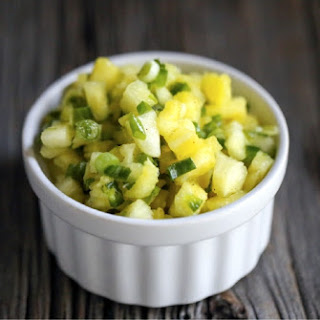 Fermented Pineapple Salsa.