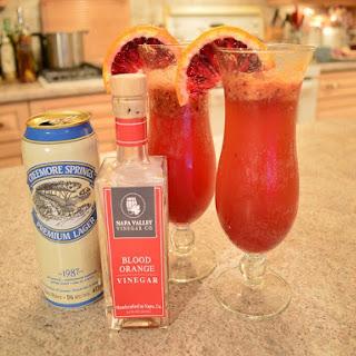 How To Make Napa Valley Blood Orange Beer Cocktails.