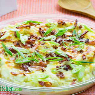 EASY Low Carb Cheese & Bacon Cauliflower Casserole Recipe Step by Step