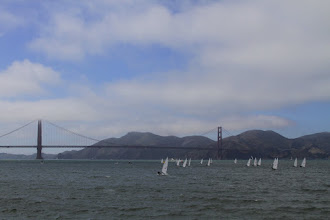 Photo: In the afternoon the fog lifts and blue skies appear.