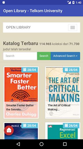 Telkom University Open Library 1.1 screenshots 2
