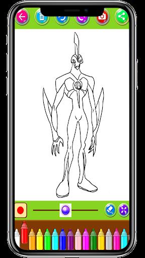 Coloring Pages For Ben Ten - Aliens 1.0.0 screenshots 2