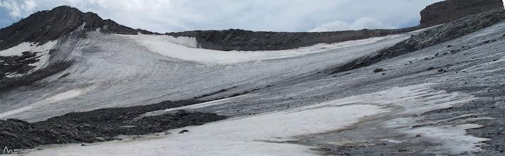 Photo: Bonita panorámica del glaciar Lombard y la Aiguille du Goléon