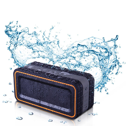 Turcom Acousto Shock 30 Watt Rugged Water Resistant Wireless Bluetooth Speaker - Frustration-Free Packaging