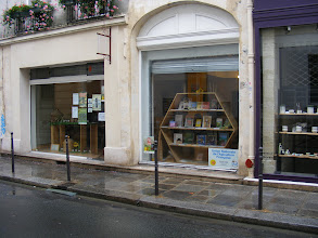 Photo: My errands include some honey buying for folks back home, starting here. And as noted (http://www.davidlebovitz.com/2008/09/honey-made-in-paris/), it is an unlikely spot, but one of those hidden bits of Paris that is a delight to discover.