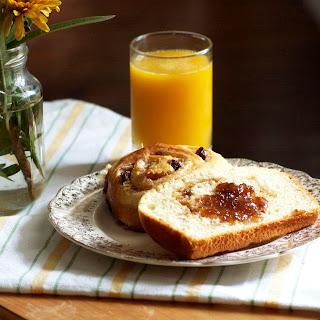 Brioche Cinnamon Buns and Loaf