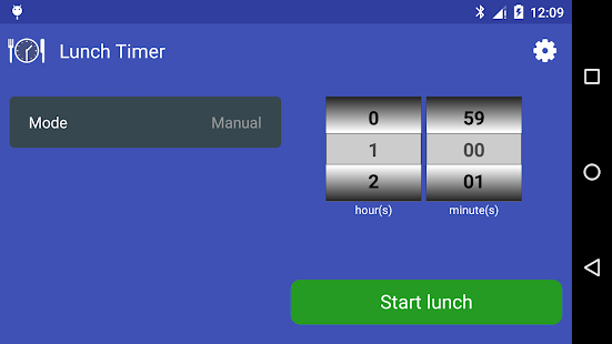 Lunch Timer and Reminder- screenshot thumbnail