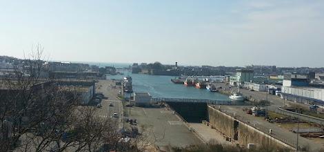 Photo: Vue sur le port de Concarneau